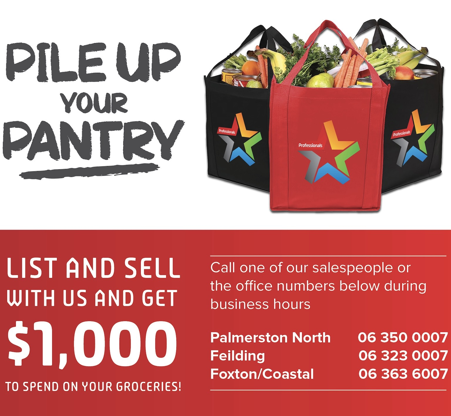 Pile up your pantry Promo