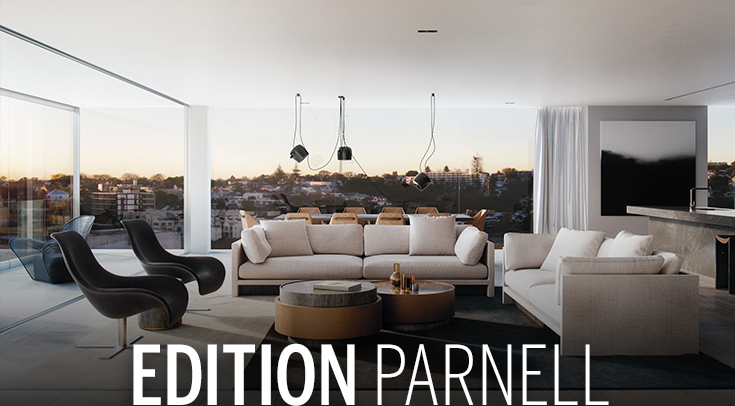 Parnell, New Zealand taking off as two apartments sold at record prices.