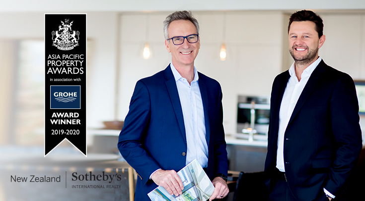 International accolade tops off a stellar year for New Zealand Sotheby's International Realty